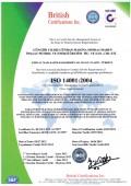 GÜNHAN SONDAJ ISO 14001:2004